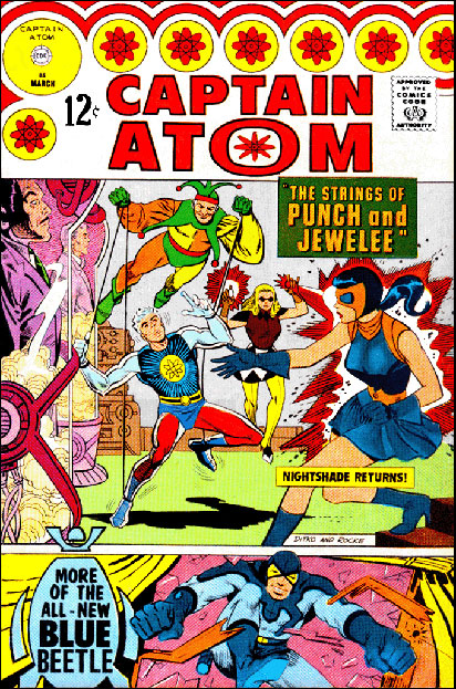 Captain Atom 85 featuring Punch & Jewelee against Captain Atom & Nightshade