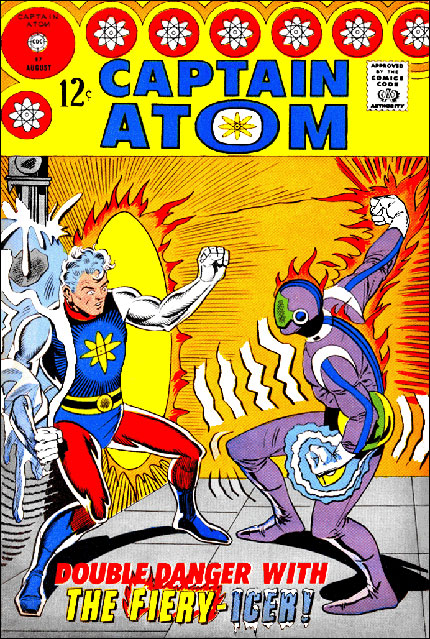 Captain Atom 87 featuring the Firey Icer