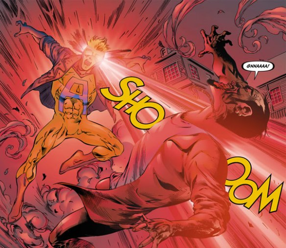 Animal Man's new powers