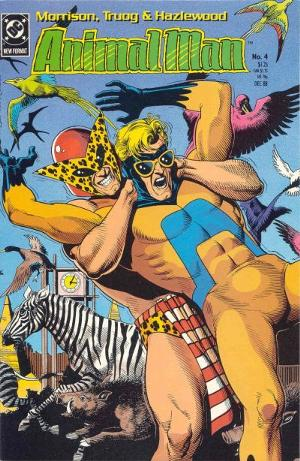 B'wana Beast vs. Animal Man!