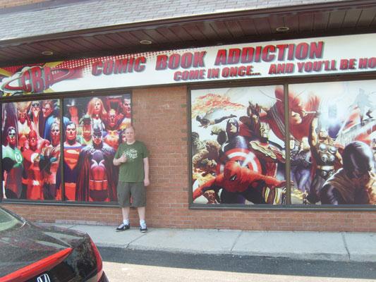 Max at Comic Book Addiction