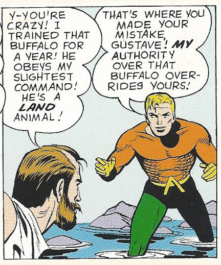 Aquaman Gets Tough with Animal Master