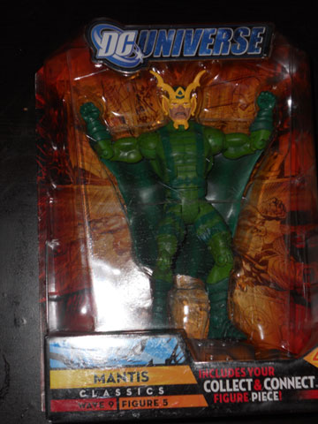 Mantis figure