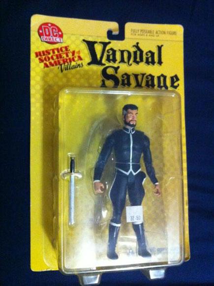 Vandal Savage Action Figure