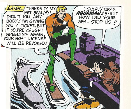 Aquaman's Sea Police in action!