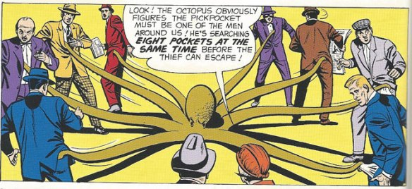 Special Octopus Officer in Aquaman's Sea Police!