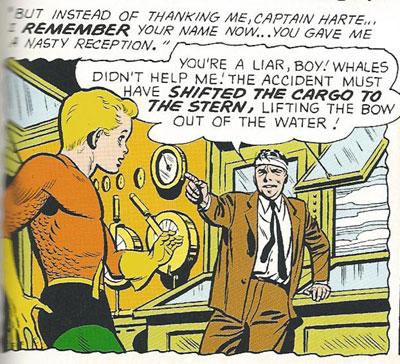 Aquaboy can't catch a break!