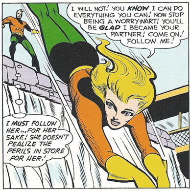 Aquagirl jumps into action!