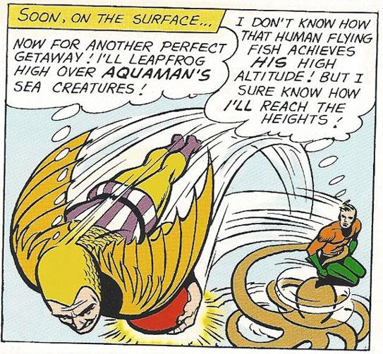 The Human Flying Fish vs Aquaman
