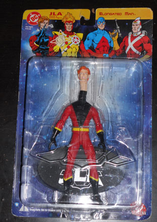 Elongated Man action figure