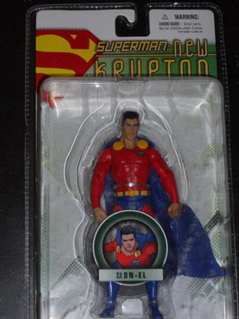 Mon-El action figure