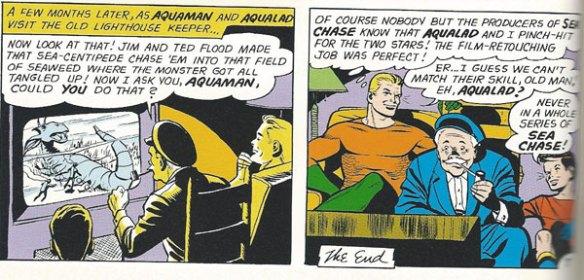 """Aquaman watching """"Sea Chase"""""""