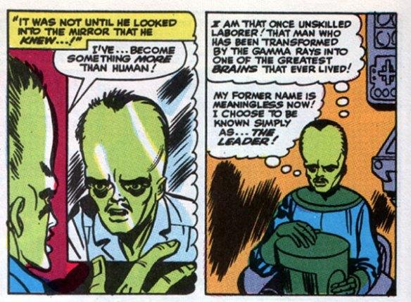 It's the Leader! Dastardly Hulk villain!