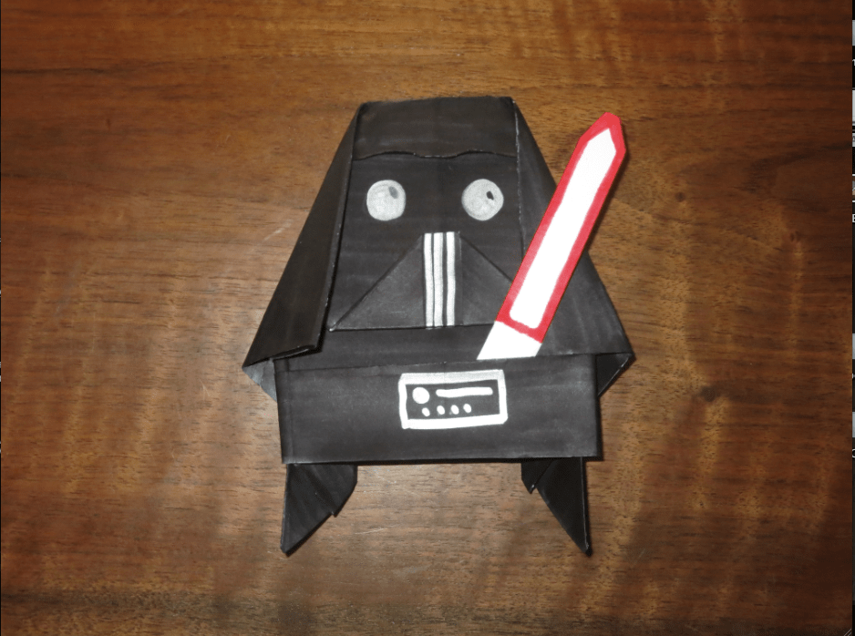 I Find Your Lack Of Faith Disturbing Super Folder Tylers Origami