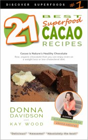 21 Best Superfood Cacao Recipes by Donna Davidson