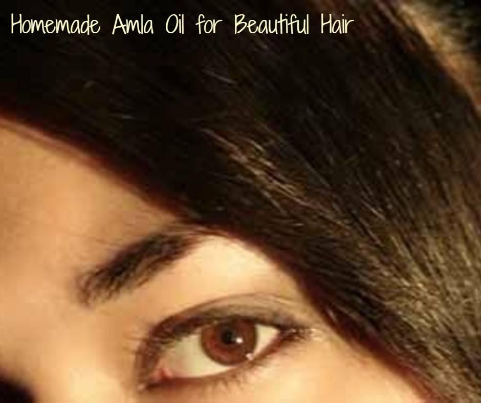 Beautiful Hair With Homemade Amla Oil