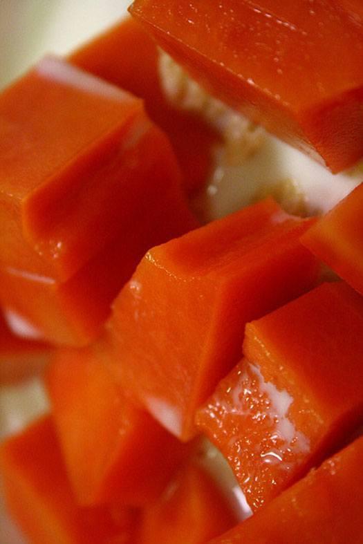 Papaya Salsa And Ripe Papaya Salad Recipes Superfood