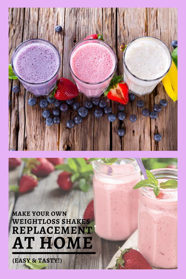 Make Your Own Weight loss Shake Replacement At Home (Easy ...