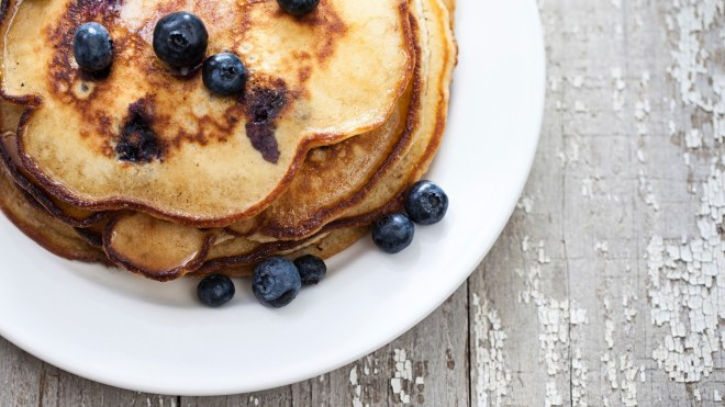 Low Carb Blueberry Pancakes Recipe