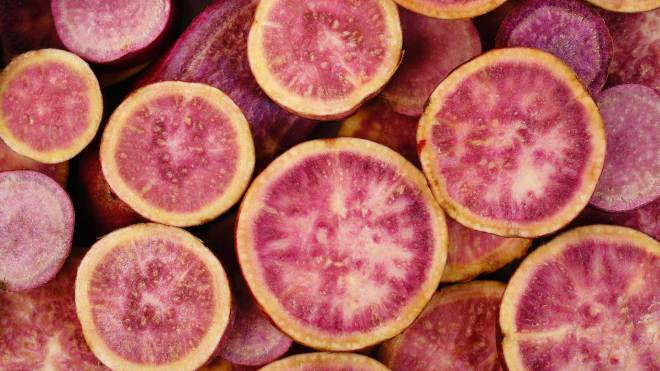 are purple sweet potatoes healthier