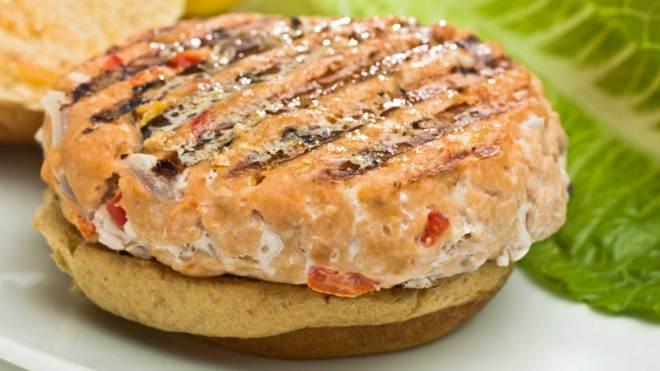 salmon burgers recipe