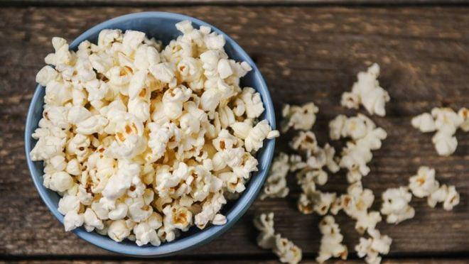 healthy popcorn