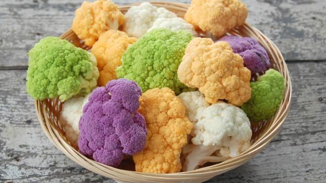 is colored cauliflower healthier