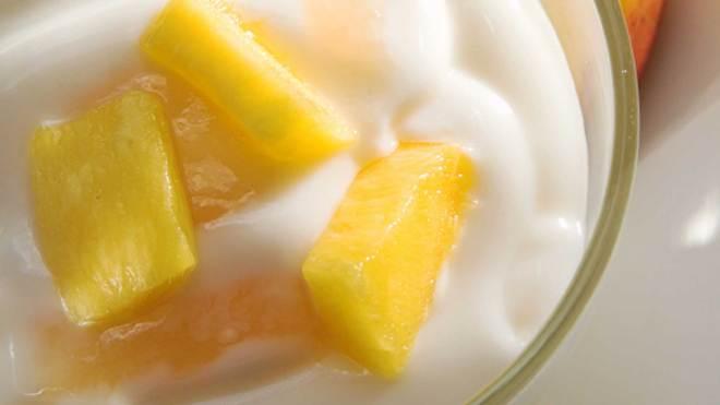 mango yogurt cream recipe