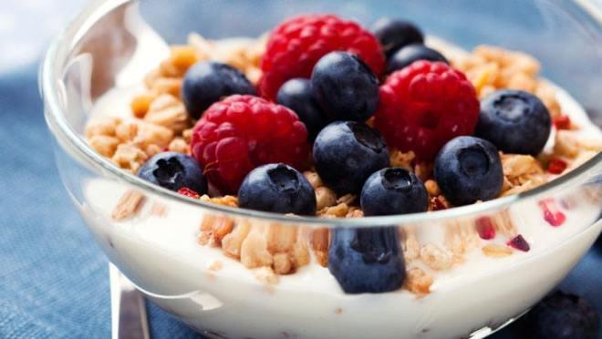 low fat yogurt