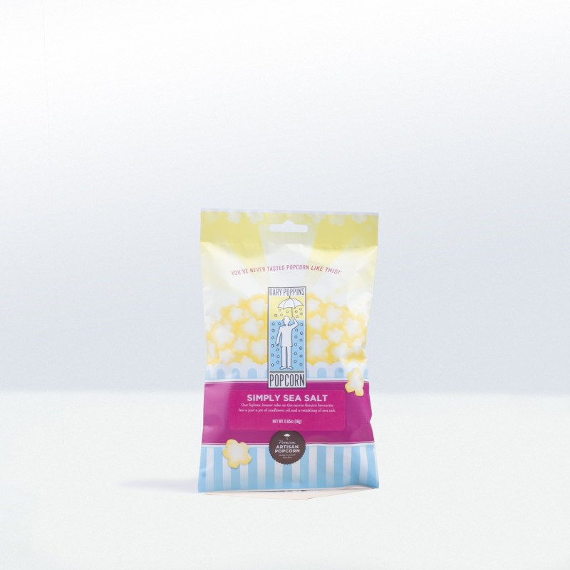 Gary Poppins-Simply Sea Salt Popcorn