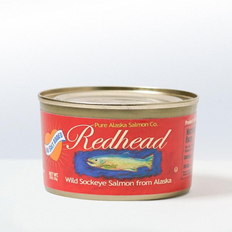 Pure Alaska Salmon Company-Redhead Wild AlaskaSockeye SalmonNo Salt Added