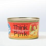 Pure Alaska Salmon Company-Think PinkWild Alaska Pink Salmon