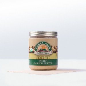 Tierra Farm-Dry Roasted Organic SaltedCashew Butter