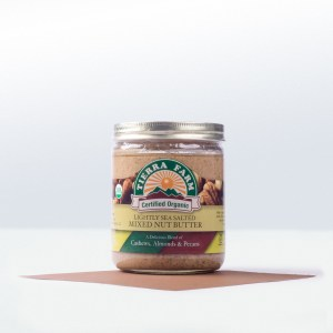 Tierra Farm-Lightly Sea SaltedMixed Nut Butter
