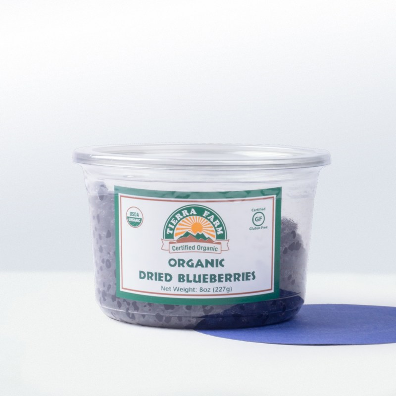 Tierra Farm-Organic Dried Blueberries