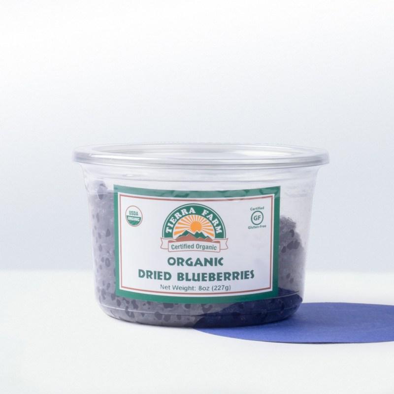 Tierra Farm-Organic Dried Blueberries