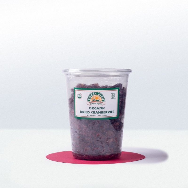 Tierra Farm-Organic Dried Cranberries
