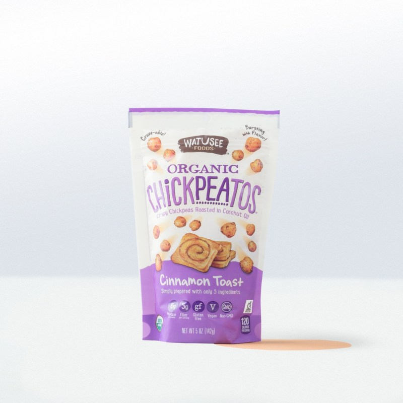 Watusee Foods-Organic ChickpeatosCinnamon Toast