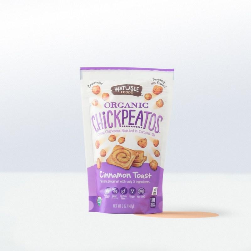 Watusee Foods-Organic ChickpeatosCinnamon Toast