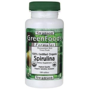 Greens Cert Org Spirulina 500mg