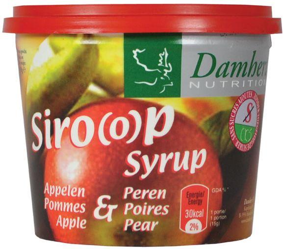 Appelen en Peren Siroop (0 toegevoegde suikers) - 450 gram