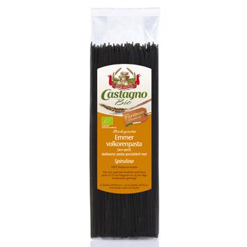 Emmer-Spaghetti met Spirulina (oerspelt)