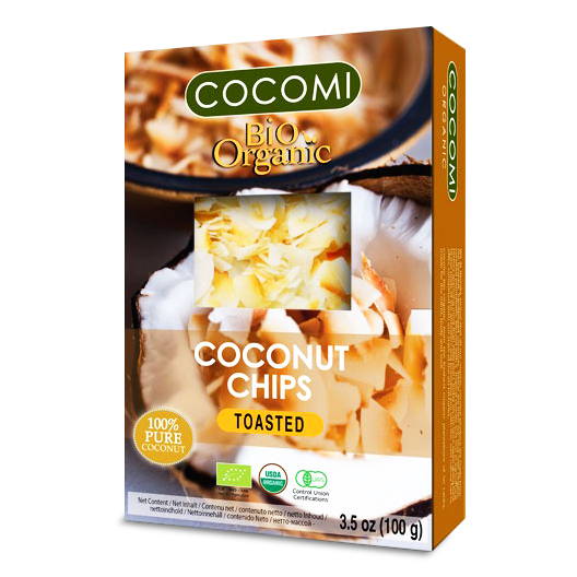 Organic Coconut Chips Toasted