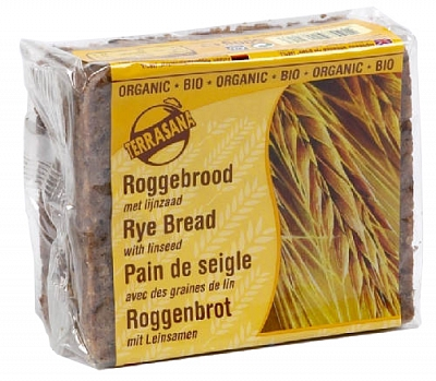 Roggebrood met Lijnzaad