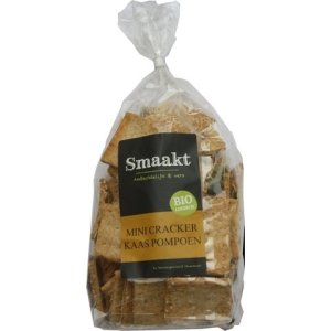 Mini crackers kaas pompoen