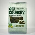 Sea Crunchy Snacks Olijfolie 10gr