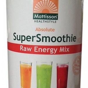 Mattisson HealthStyle SuperSmoothie Raw Energy Mix