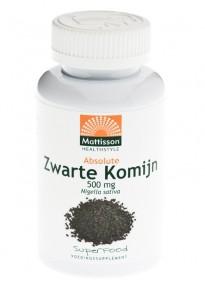 Mattisson HealthStyle Absolute Zwarte Komijn 500mg Capsules 90st