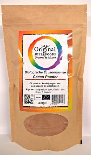 Biologisch Cacaopoeder