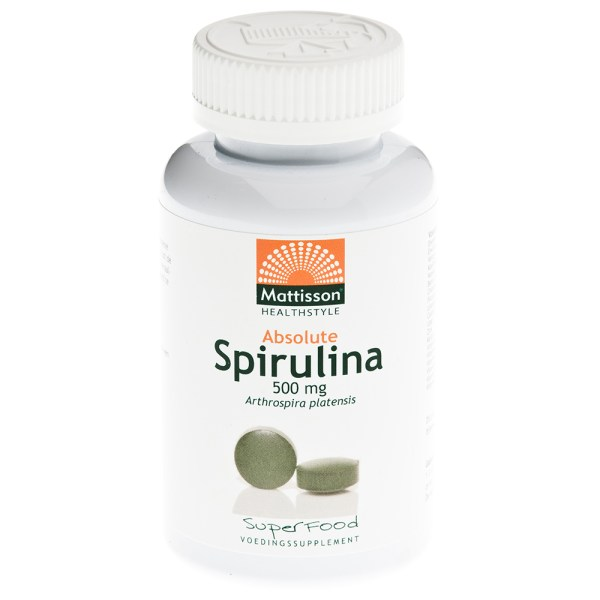 Absolute Spirulina 500 mg Bio